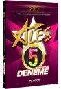2017 ALES Çözümlü 5 Deneme Filozof Yayıncılık