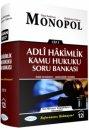 Adli Hakimlik Kamu Hukuku Soru Bankası Monopol Yayınları