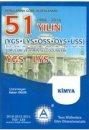 YGS LYS Kimya 51 Yılın Çıkmış Soruları ve Çözümleri A Yayınları