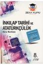 8. Sınıf TEOG  T.C İnkılap Tarihi ve Atatürkçülük Soru Bankası Zeka Küpü Yayınları