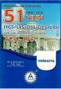 YGS LYS Coğrafya 51 Yılın Çıkmış Soruları ve Çözümleri A Yayınları