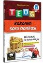 8. Sınıf TEOG Din Kültürü ve Ahlak Bilgisi Kazanım Soru Bankası Çanta Yayınları