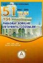 YGS Paragraf Soruları 51 Yılın Çıkmış Soruları ve Çözümleri A Yayınları