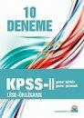KPSS 2 Genel Kültür-Genel Yetenek Lise Önlisans 10 Deneme