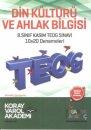 Koray Varol 8. S�n�f TEOG 1 Din K�lt�r� ve Ahlak Bilgisi 10X20 Deneme