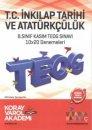 Koray Varol 8. Sınıf TEOG 1 T.C. İnkilap Tarihi ve Atatürkçülük 10X20 Deneme