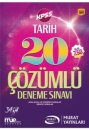 2017 KPSS Tarih Çözümlü 20 Deneme Sınavı Murat Yayınları