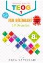 8. Sınıf TEOG 1 Fen Bilimleri 10 Deneme RTY Rota Yayınları