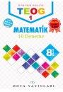 8. Sınıf TEOG 1 Matematik 10 Deneme RTY Rota Yayınları