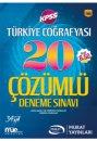 2017 KPSS Türkiye Coğrafyası Çözümlü 20 Deneme Sınavı Murat Yayınları
