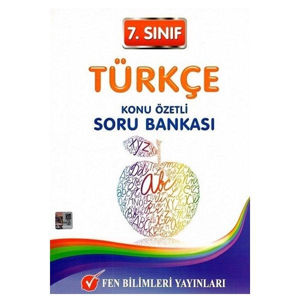7. Sınıf Türkçe Konu Özetli Soru Bankası Fen Bilimleri Yayınları