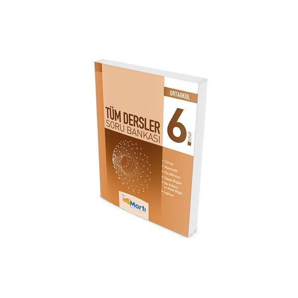 Martı Okul Yayınları 6.Sınıf Tüm Dersler Soru Bankası 2016-2017
