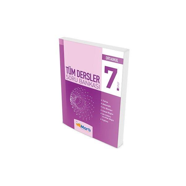 Martı Okul Yayınları 7.Sınıf Tüm Dersler Soru Bankası 2016-2017