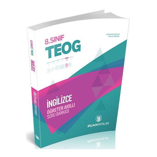 8. Sınıf TEOG İngilizce Öğreten Akıllı Soru Bankası Puan Yayınları