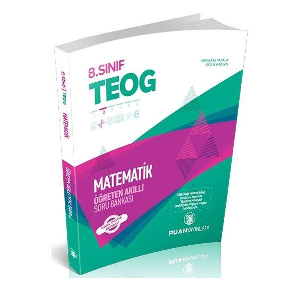 8.Sınıf TEOG Matematik Öğreten Akıllı Soru Bankası Puan Yayınları