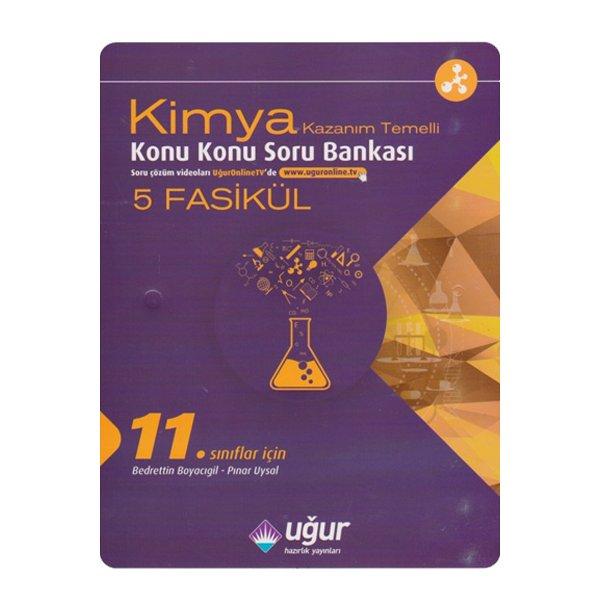 11. Sınıf Kimya Kazanım Temelli Konu Konu Soru Bankası Uğur Hazırlık Yayınları