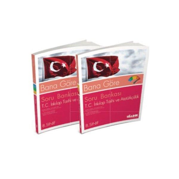 8. Sınıf TEOG  Bana Göre T.C. İnkılap Tarihi ve Atatürkçülük Soru Bankası 10 Adım Yayıncılık