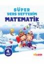 4.Sınıf Matematik Süper Ders Defterim 10 Adım Yayıncılık