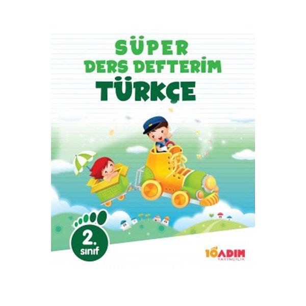 2. Sınıf Türkçe Süper Ders Defterim 10 Adım Yayıncılık