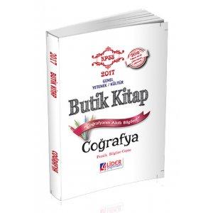 2017 KPSS Co�rafya Butik Kitap Lider Yay�nlar�