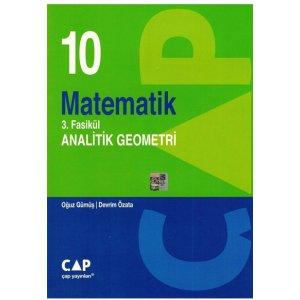 10. S�n�f Matematik 3. Fasik�l Analatik Geometri �ap Yay�nlar�