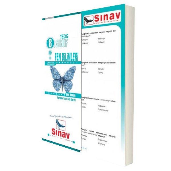 8. Sınıf TEOG Fen Bilimleri Çek Kopar Yaprak Test Sınav Dergisi Yayınları