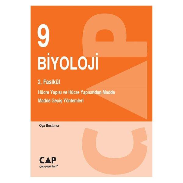 9. Sınıf Biyoloji 2. Fasikül Hücre Yapısı ve Hücre Yapısından Madde Çap Yayınları