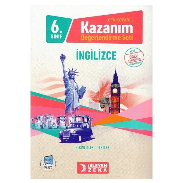 6. Sınıf İngilizce Çek Koparlı Kazanım Değerlendirme Seti İşleyen Zeka Yayınları