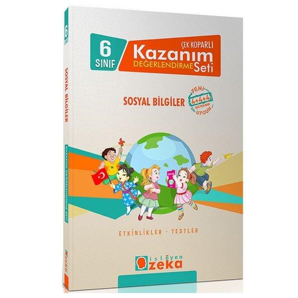 6.Sınıf Sosyal Bilgiler Çek Koparlı Kazanım Değerlendirme Seti İşleyen Zeka Yayınları