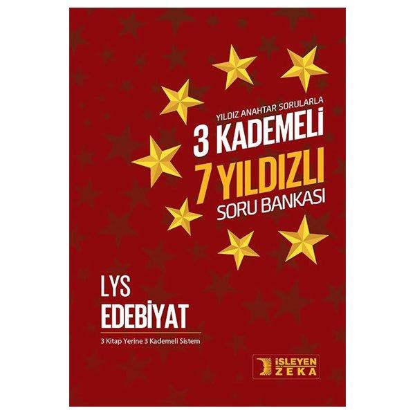 LYS Edebiyat 3 Kademeli 7 Yıldızlı Soru Bankası İşleyen Zeka Yayınları