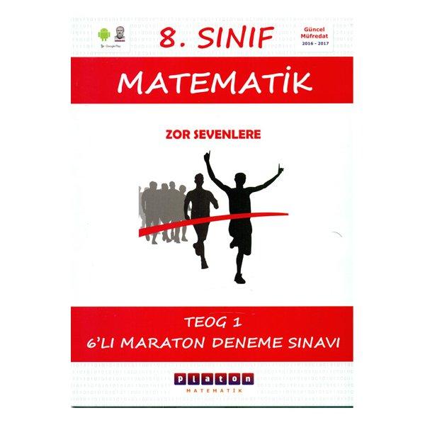 8.Sınıf Matematik TEOG-1 Maraton 6 Deneme Sınavı Platon Matematik