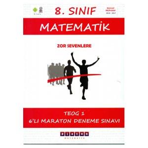 8.S�n�f Matematik TEOG-1 Maraton 6 Deneme S�nav� Platon Matematik