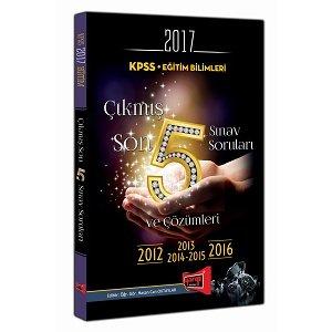 2017 KPSS E�itim Bilimleri ��km�� Son 5 S�nav Sorular� ve ��z�mleri Yarg� Yay�nlar�