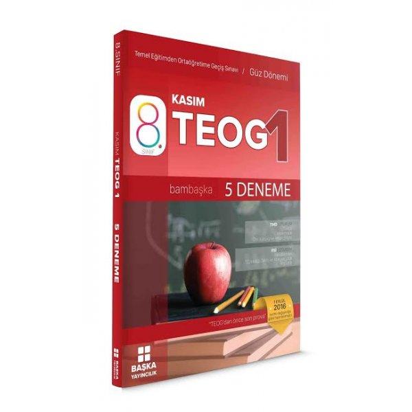 8.Sınıf TEOG  1 5 Deneme Sınavı Başka Yayınları