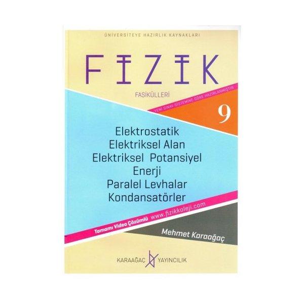 Fizik Fasikülleri 9 - Elektrostatik Elektriksel Alan Karaağaç Yayınları