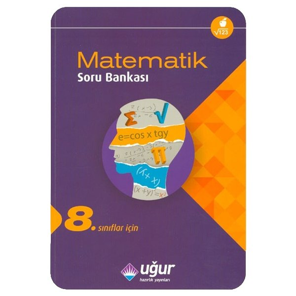 8. Sınıf TEOG  Matematik Soru Bankası Uğur Hazırlık Yayınları