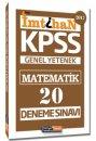 2017 KPSS İmtihan Matematik 20 Deneme Sınavı Kariyer Meslek Yayınları