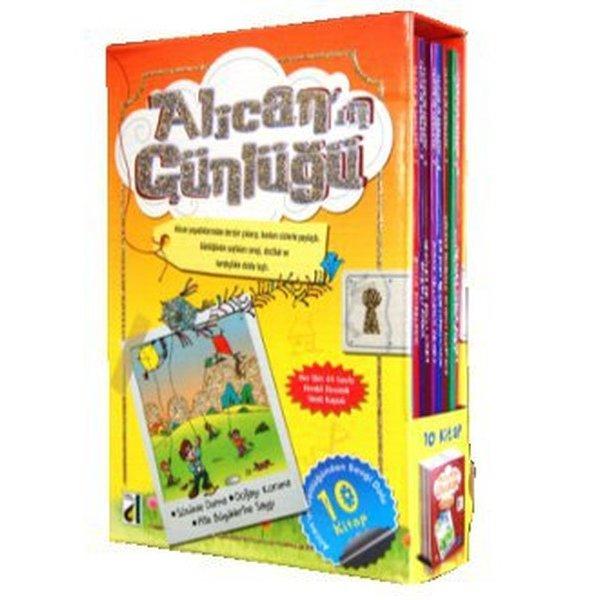 Damla Yayınları Alican'ın Günlüğü ( 10 Kitap )