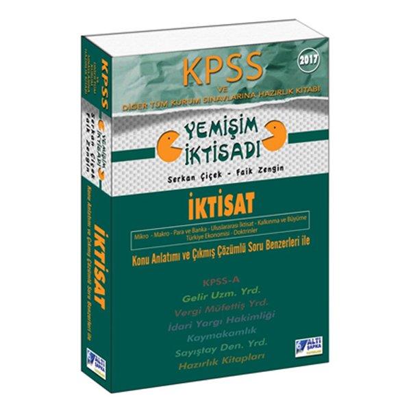 2017 KPSS A Grubu İktisat Konu Anlatımlı Kitap Yemişim İktisadı Altı Şapka Yayınları