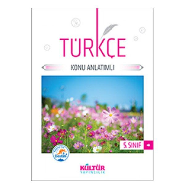 5. Sınıf Türkçe Konu Anlatımı Kültür Yayıncılık