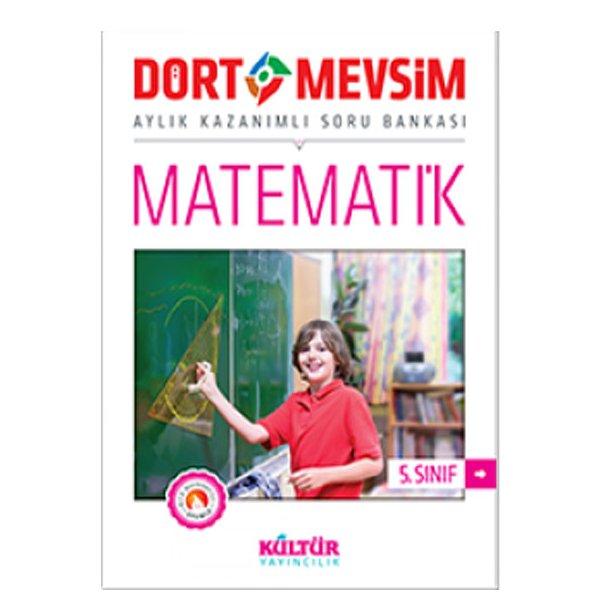 5. Sınıf Dört Mevsim Matematik Soru Bankası Kültür Yayıncılık
