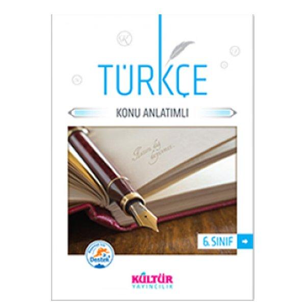 6. Sınıf Türkçe Konu Anlatımı Kültür Yayıncılık