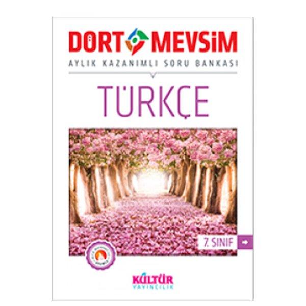 7. Sınıf Dört Mevsim Türkçe Soru Bankası Kültür Yayıncılık
