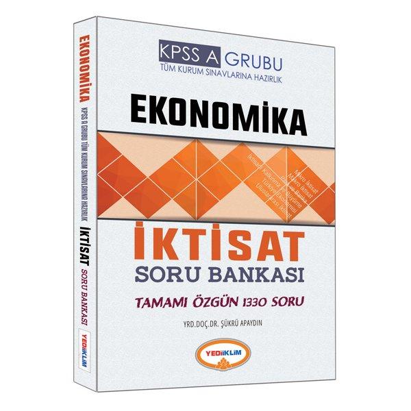 2017 KPSS A Grubu Ekonomika İktisat Soru Bankası Yediiklim Yayınları