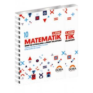 10. S�n�f Matematik 1-2 S�n�f ��i Uygulama ve �dev K�lavuzu Dora Yay�nlar�