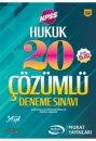 2017 KPSS A Grubu Hukuk Çözümlü 20 Deneme Sınavı Murat Yayınları