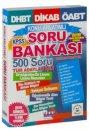 KPSS DHBT Tüm Adaylar İçin Konu Anlatımlı Soru Bankası Burç Yayınevi