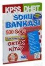 KPSS DHBT Tüm Adaylar İçin Soru Bankası Burç Yayınevi