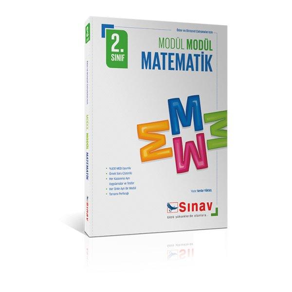 Sınav Yayınları 2.Sınıf Modül Modül Matematik