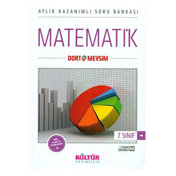 7. Sınıf Dört Mevsim Matematik Soru Bankası Kültür Yayıncılık